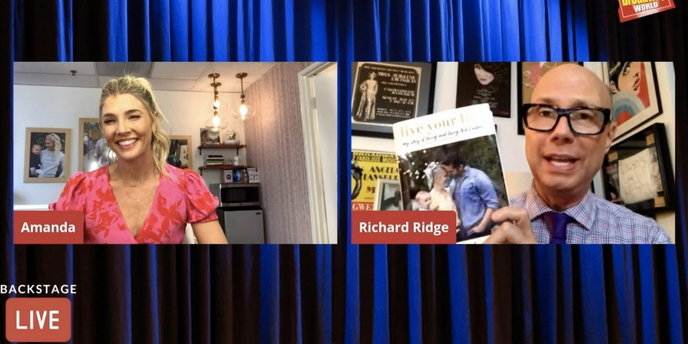 VIDEO: Amanda Kloots Visits Backstage LIVE with Richard Ridge- Watch Now! Video