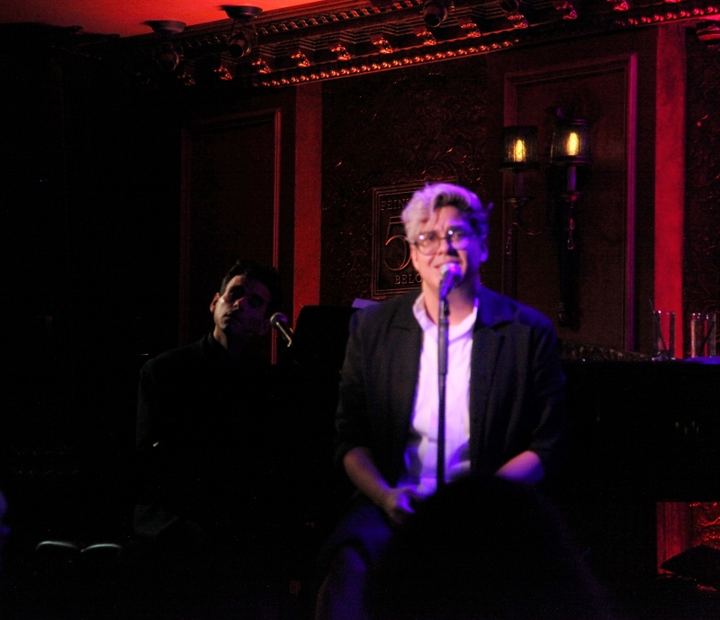 BWW Review: George Salazar & Joe Iconis: TWO-PLAYER GAME  Proves 2 Hands Are Better Than One At Feinstein's/54 Below
