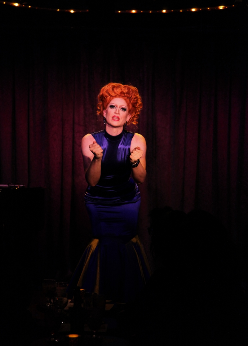 BWW Review: Fabulous PHOEBE JEEBIES Breaks New Ground With DRAG THERAPY at Don't Tell Mama