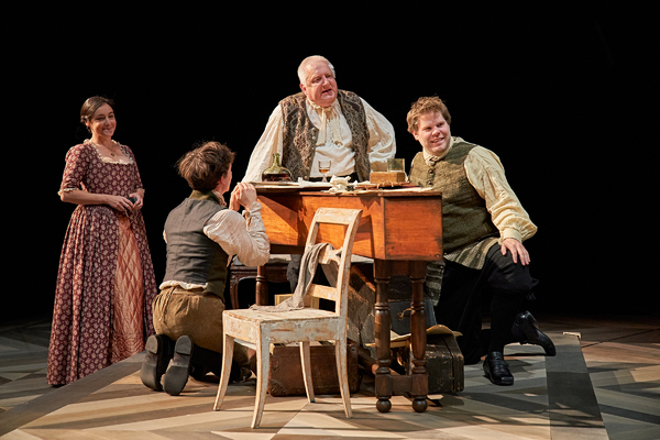 Photo Flash: Get a First Look at the World Premiere of BACH & SONS at the Bridge Theatre