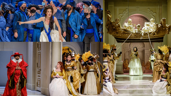 Photo Flash: Check Out The New Hungarian State Opera Production of ANDREA CHENIER on OperaVision