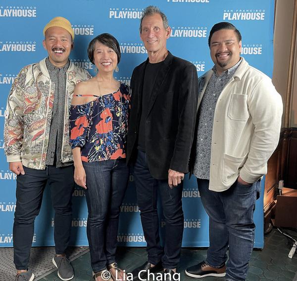 Jomar Tagatac, Jeanne Sakata, Bill English and Jeffrey Lo Photo