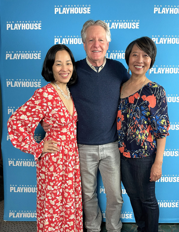 Lia Chang, Tim Patterson and Jeanne Sakata Photo