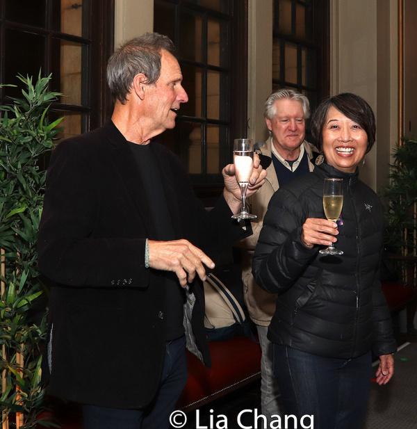 San Francisco Playhouse Artistic Director Bill English, Tim Patterson, Playwright Jea Photo
