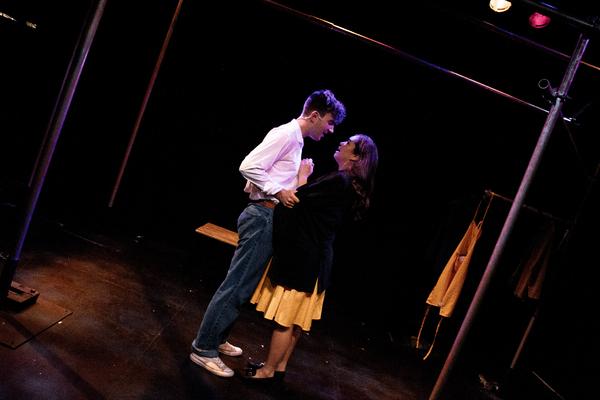 Aidan Harkins and Nicola Espallardo Photo