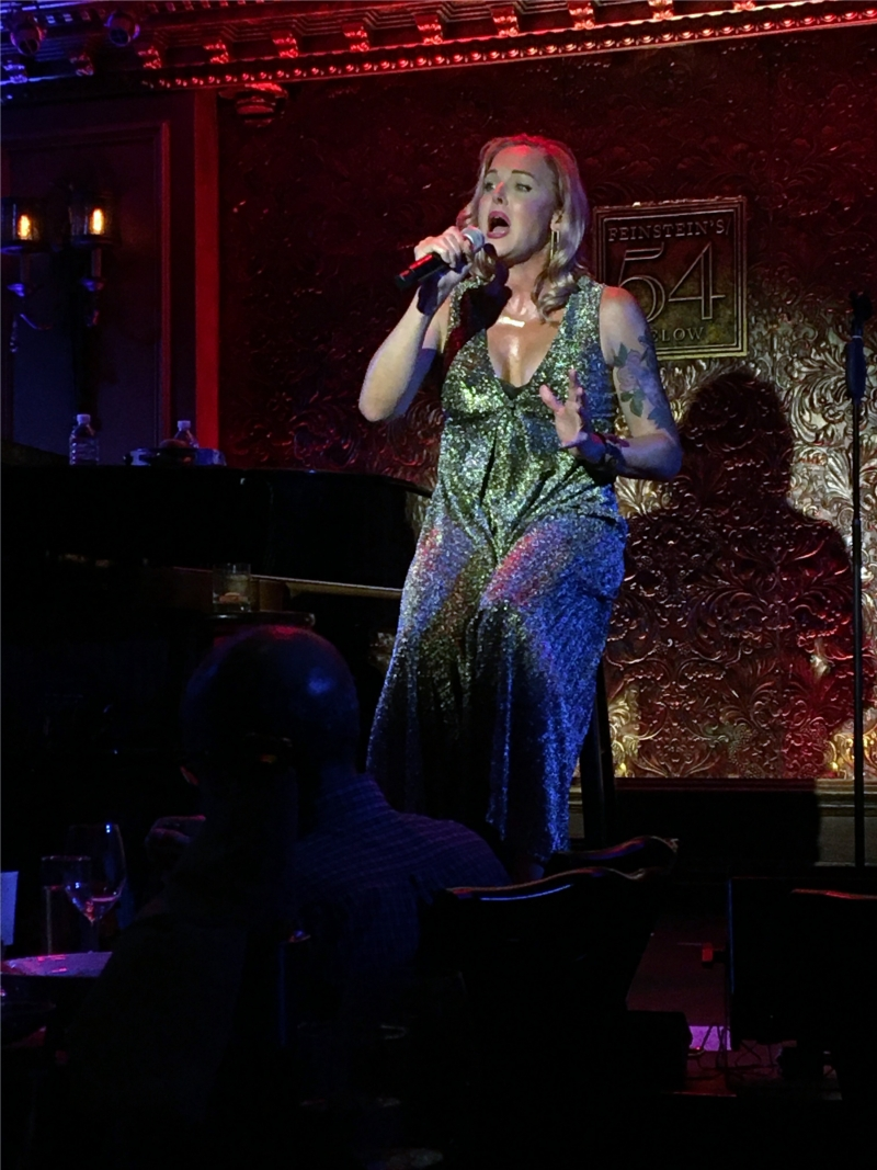 BWW Review: Sexy, Subversive STORM LARGE Puts Out... Her Real, Raw, Raunchy Self All Over The Stage At Feinstein's/54 Below