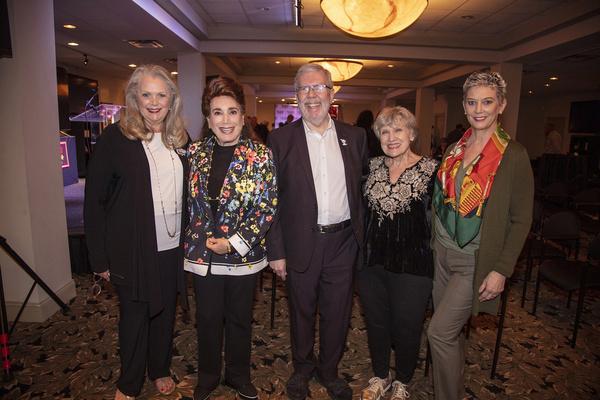 Ann Jillian, Donelle Dadigan, Leonard & Alice Maltin and Patricia Kelly Photo