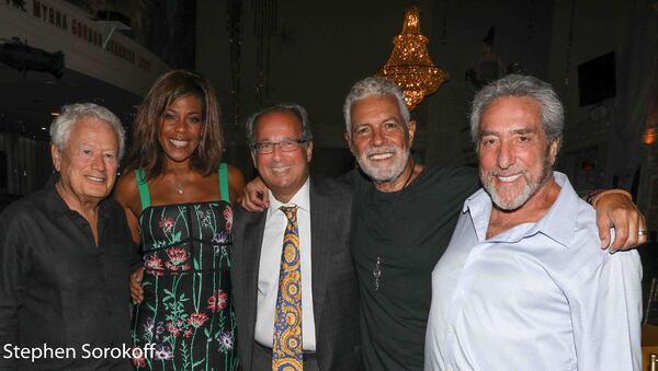 Stephen Sorokoff, NIcole Henry, Craig Neier, Clint Holmes, Ken Greenblatt Photo