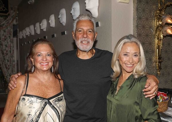 Photos: Nat King Cole's Daughters Attend Clint Holmes Billy Stritch Tribute Show at Wick Cabaret Theater