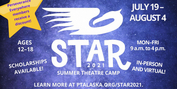 Perseverance Theatre's Summer Theatre Camp Returns To In-Person Workshops This Summer Photo