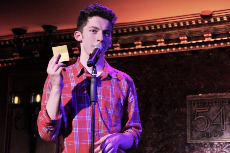 Andrew Barth Feldman PARK MAP at Feinstein's/54 Below Is A Must-See  As It Enters Closing Weekend