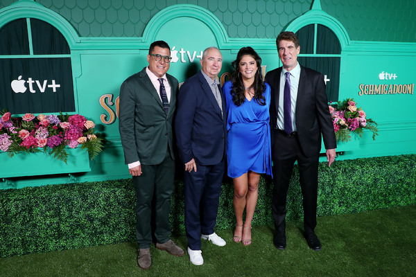 Andrew Singer (executive producer), Barry Sonnenfeld (director), Cecily Strong (produ Photo