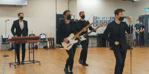 JERSEY BOYS in Rehearsal; Returning to London Next Month! Video