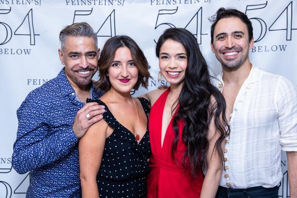 Danny Bolero, Natalie Caruncho, Arielle Jacobs and J.J. Caruncho Photo