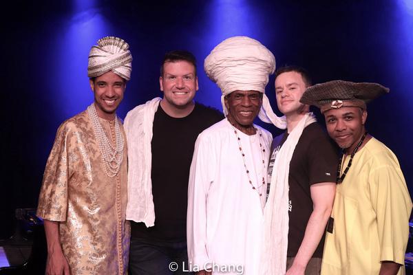 Sean Mayes, Tom D'Angora, Andre De Shields, Michael D'Angora, Andrew Atkinson Photo