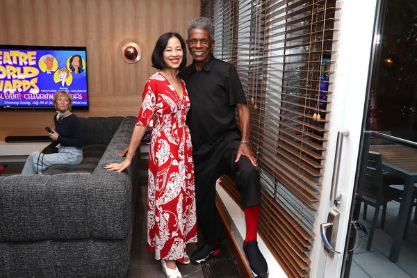 Lia Chang, Andre De Shields. Photo by Vincent Phram Photo