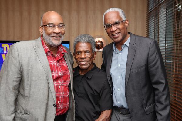 Michael Dinwiddie, Andre De Shields, Vincent Phram Photo