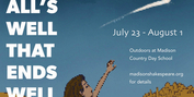 Madison Shakespeare Company Celebrates Ninth Summer With ALL'S WELL THAT ENDS WELL Photo