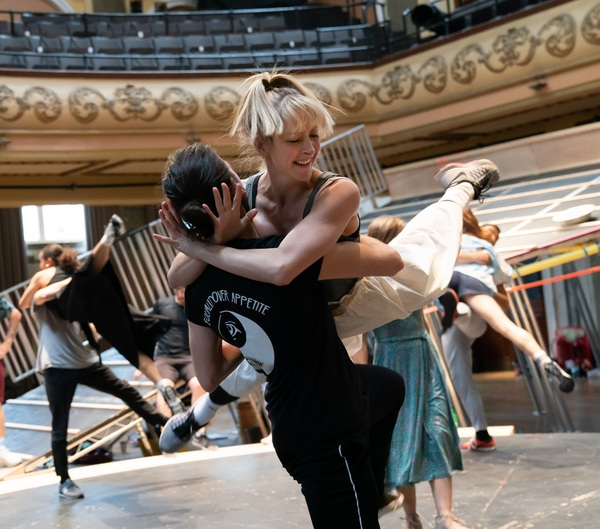 Photos: Inside Rehearsal For CAROUSEL at Regent's Park Open Air Theatre