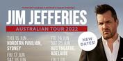 Jim Jefferies 2022 Rescheduled Tour Dates Announced Photo