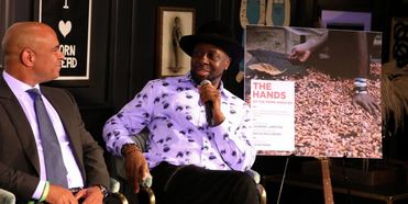 Wyclef Jean and Former Haitian Prime Minister Laurent Lamothe Discuss Leadership Lessons a Photo