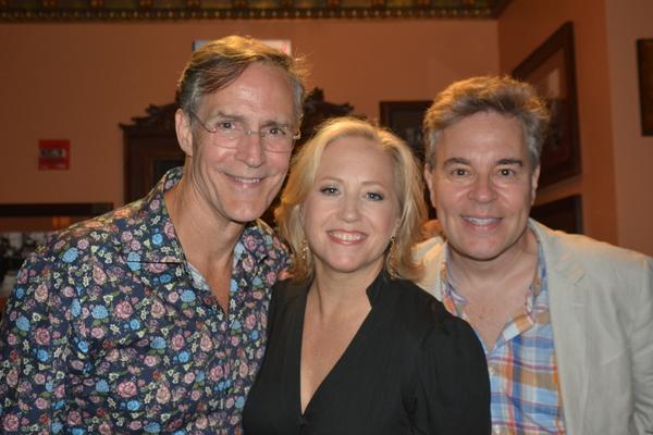 Howard McGillin, Sally Wilfert and Richard Samson Photo