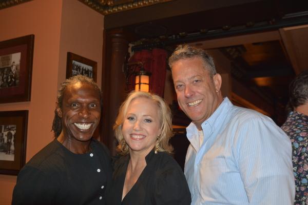 Andre Ward, Sally Wilfert and Michael Goddard Photo