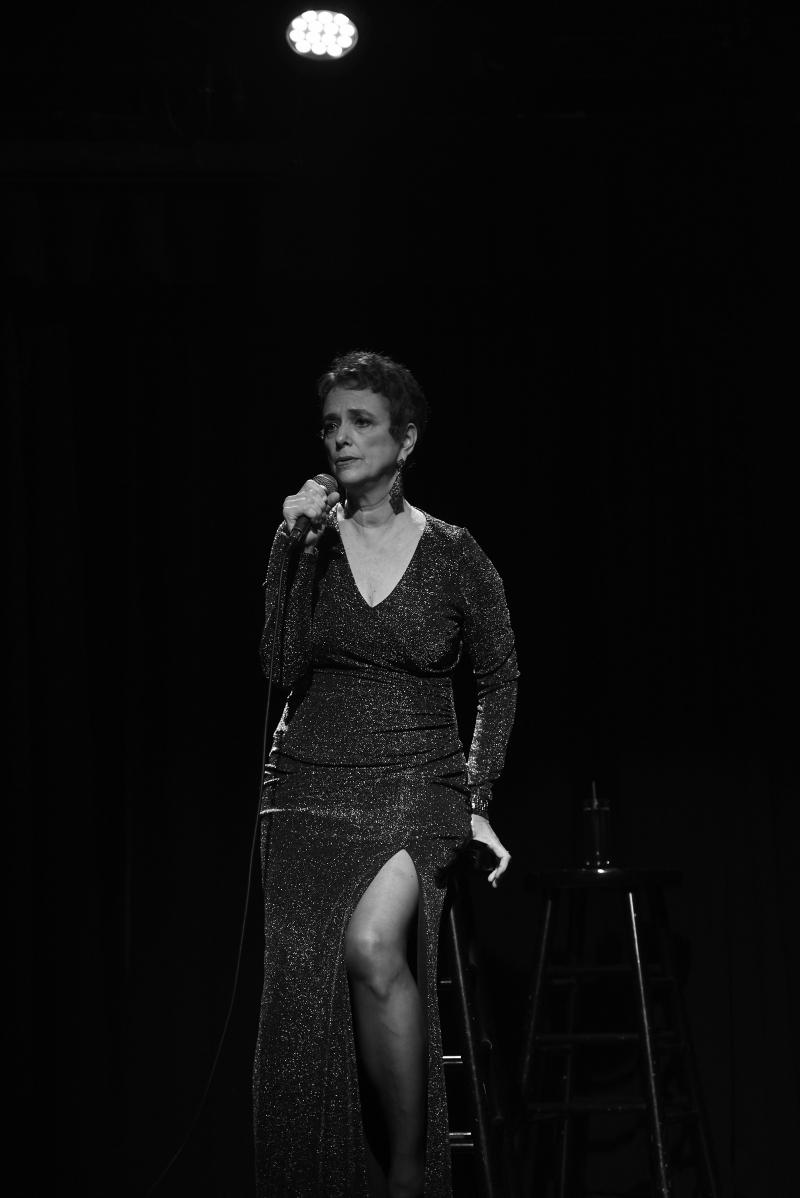 Photo Flash: Helane Blumfield Captures Deborah Stone in HERE I AM! at The Triad