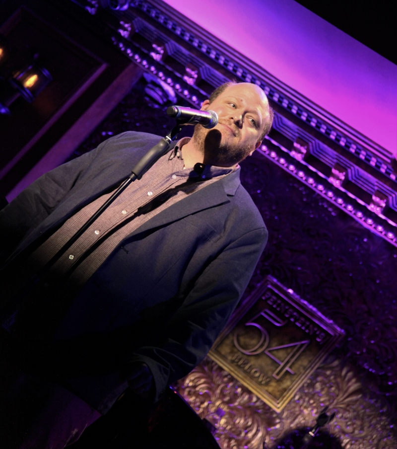 BWW Review: JOE ICONIS Defines Originality and Family at Feinstein's/54 Below