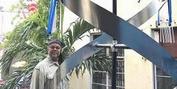 Artist Bernard Stanley Hoyes Delivers Symbolic Spiral Steel Sculpture To Jamaica During Th Photo