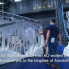 VIDEO: Watch a Set Build Timelapse for FROZEN in the West End Photo