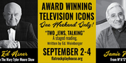 Ed Asner and Jamie Farr to Star in TWO JEWS, TALKING at Flat Rock Playhouse Photo