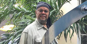Bernard Stanley Hoyes Delivers Symbolic Spiral Steel Sculpture To Jamaica During The Pande Photo