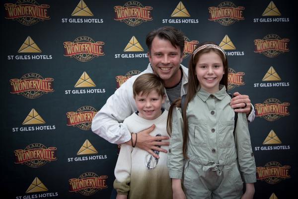 Neil McDermott and family  Photo