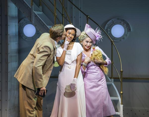 Haydn Oakley, Nicole-Lily Baisden, Felicity Kendal Photo