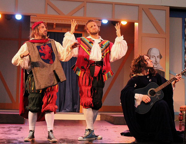 Photos: THE COMPLETE WORKS OF WILLIAM SHAKESPEARE ABRIDGED at Cortland Rep