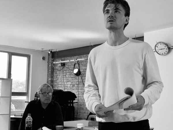 Photos: Inside Rehearsal For WHEN DARKNESS FALLS at the Park Theatre