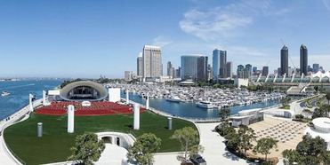 The Rady Shell at Jacobs Park, the New Permanent Outdoor Home of the San Diego Symphony, O Photo