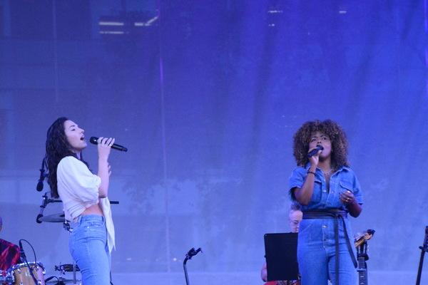 Photos: Adrienne Warren and Friends Perform as Part of Bryant Park's Picnic Performances