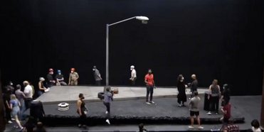 VIDEO: Get an Inside Look at Tech Rehearsal For PASS OVER on Broadway Photo