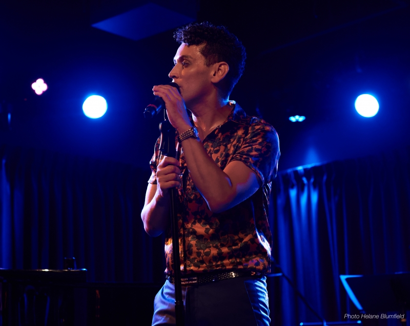 Photo Flash:  Helane Blumfield Gets Michael Longoria In Action In SUMMER LOVIN' at The Green Room 42