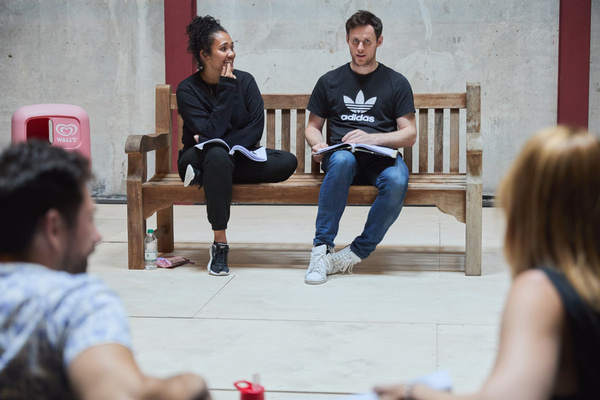 Photos: Inside Rehearsals For PARK BENCH At The Park Theatre
