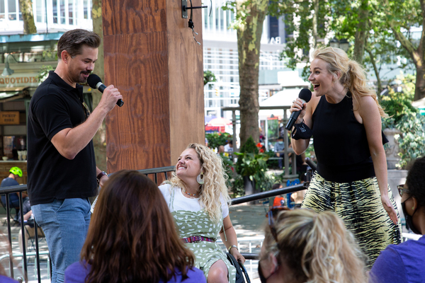 Photos: Betsy Wolfe, Andrew Rannells & More Kick Off BroadwayEvolved Initiative at Bryant Park