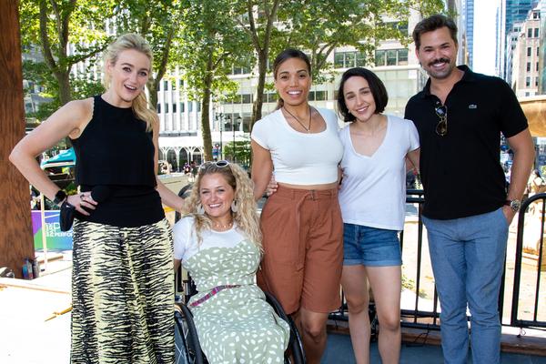 Betsy Wolfe, Ali Stroker, Ciara Renee, Lauren Patten, Andrew Rannells Photo