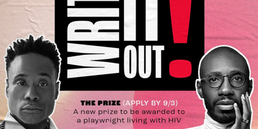 Billy Porter to Fund Inaugural WIO! Playwriting Prize For People Living With HIV, Launched Photo