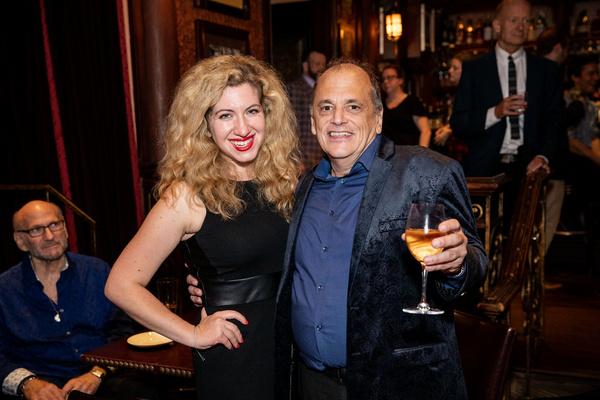Publicist Lydia Liebman and John Minnock Photo by Leslie Farinacci Photo
