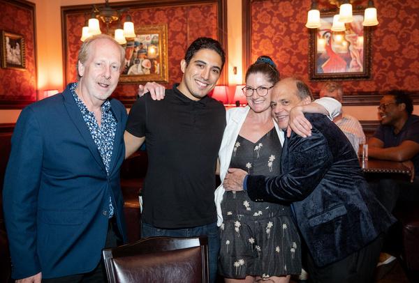 Cliff Lyons, Alp Koksoy, Jennifer Kaufmann and John Minnock Photo by Leslie Farinacci Photo