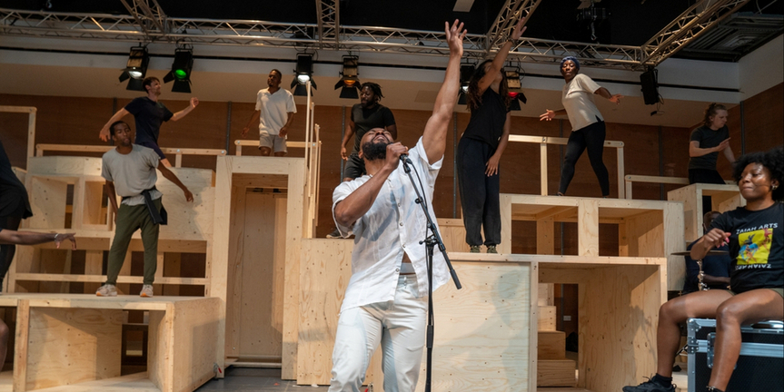 Photos/Video: Rehearsals Begin For GET UP, STAND UP! THE BOB MARLEY MUSICAL Photo