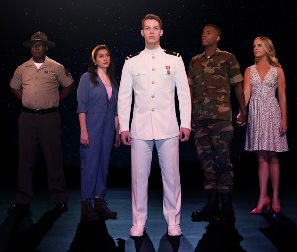 Wes Williams, Mia Massaro & More to Star 2021-22 North American Tour of AN OFFICER AND A GENTLEMAN; Get a First Look!