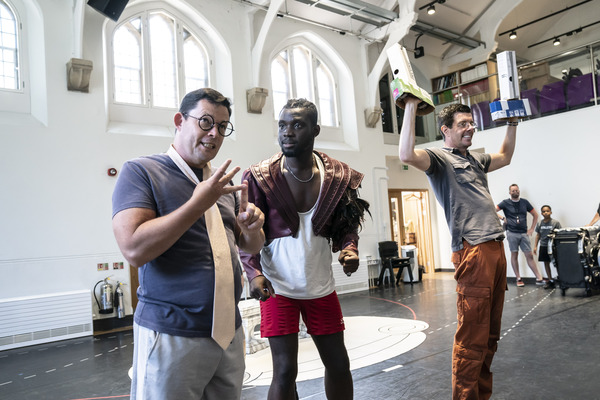 Photos/Video: In Rehearsal For BEAUTY AND THE BEAST at the Bristol Hippodrome